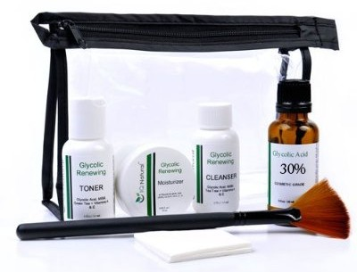 glycolic chemical peel kit